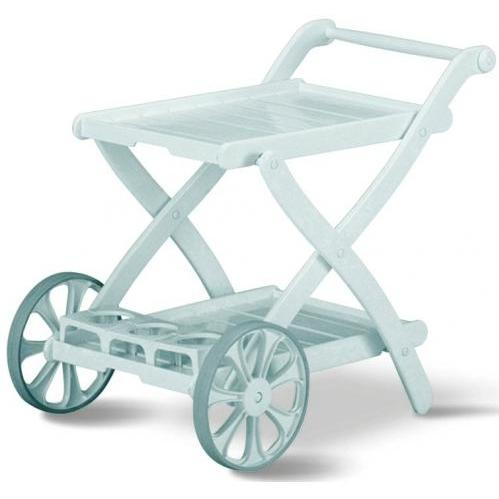 Kettler Tiffany Resin Serving Cart