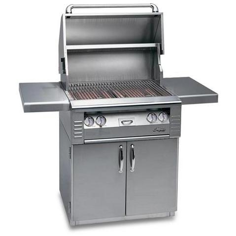 Alfresco AGBQ Classic 30 Inch Builder Natural Gas Grill On Cart