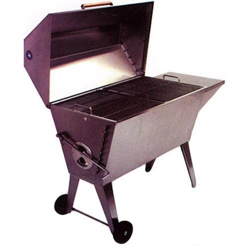 Cajun Grill BBQ Charcoal Grill Stainless Steel