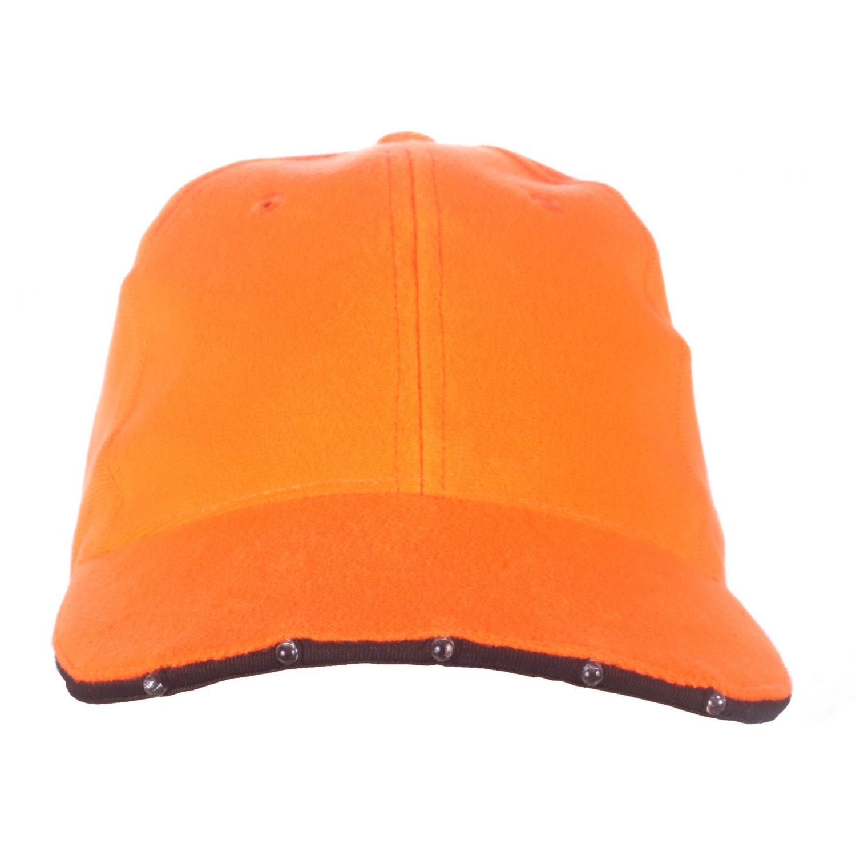 Huntworth Dozen Lighted LED Promo Baseball Caps - Blaze