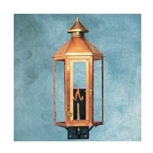 Legendary Lighting Neptune 1 Copper Natural Gas Light With Wall Bracket