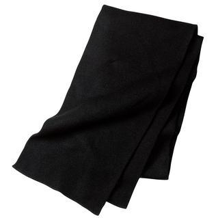 Port & Company Knitted Scarf - Black