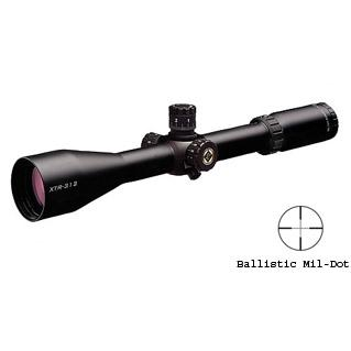 Burris Xtreme Tactical XTR Scopes, 3X-12X-50mm, Illuminated Ballistic, Mil-Dot