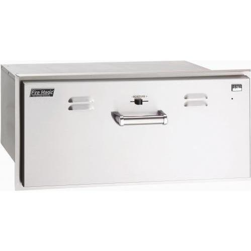 Fire Magic Echelon 30 Inch Stainless Warming Drawer 43830-SW