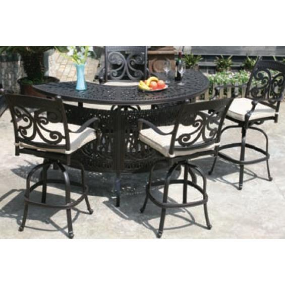 Alfresco Home Farfalla Bar Set - Antique Wine