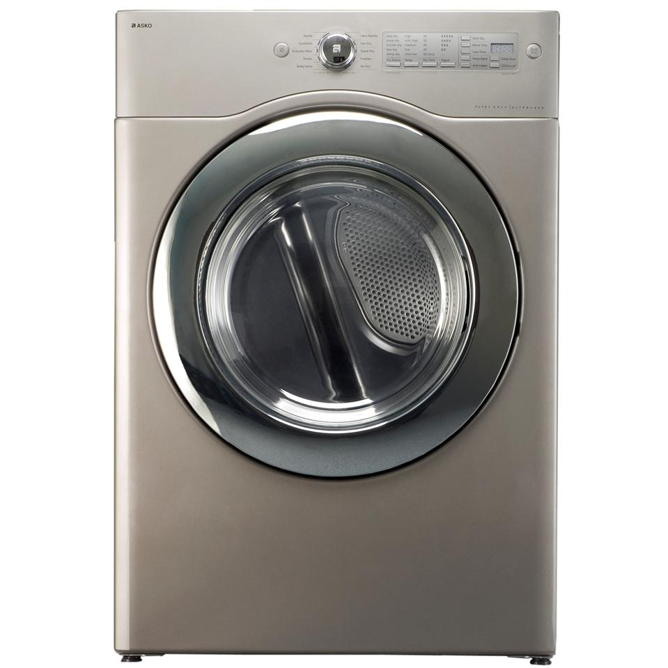 ASKO Dryer UltraCare XXL Capacity Electric Dryer - Pure Platinum