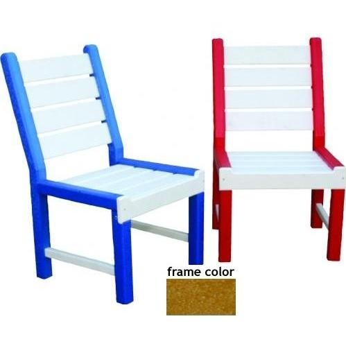 Eagle One Recycled Plastic Kids Chair - Cedar