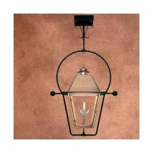 Legendary Lighting Atlas 1 Copper Natural Gas Light With Yoke Bracket