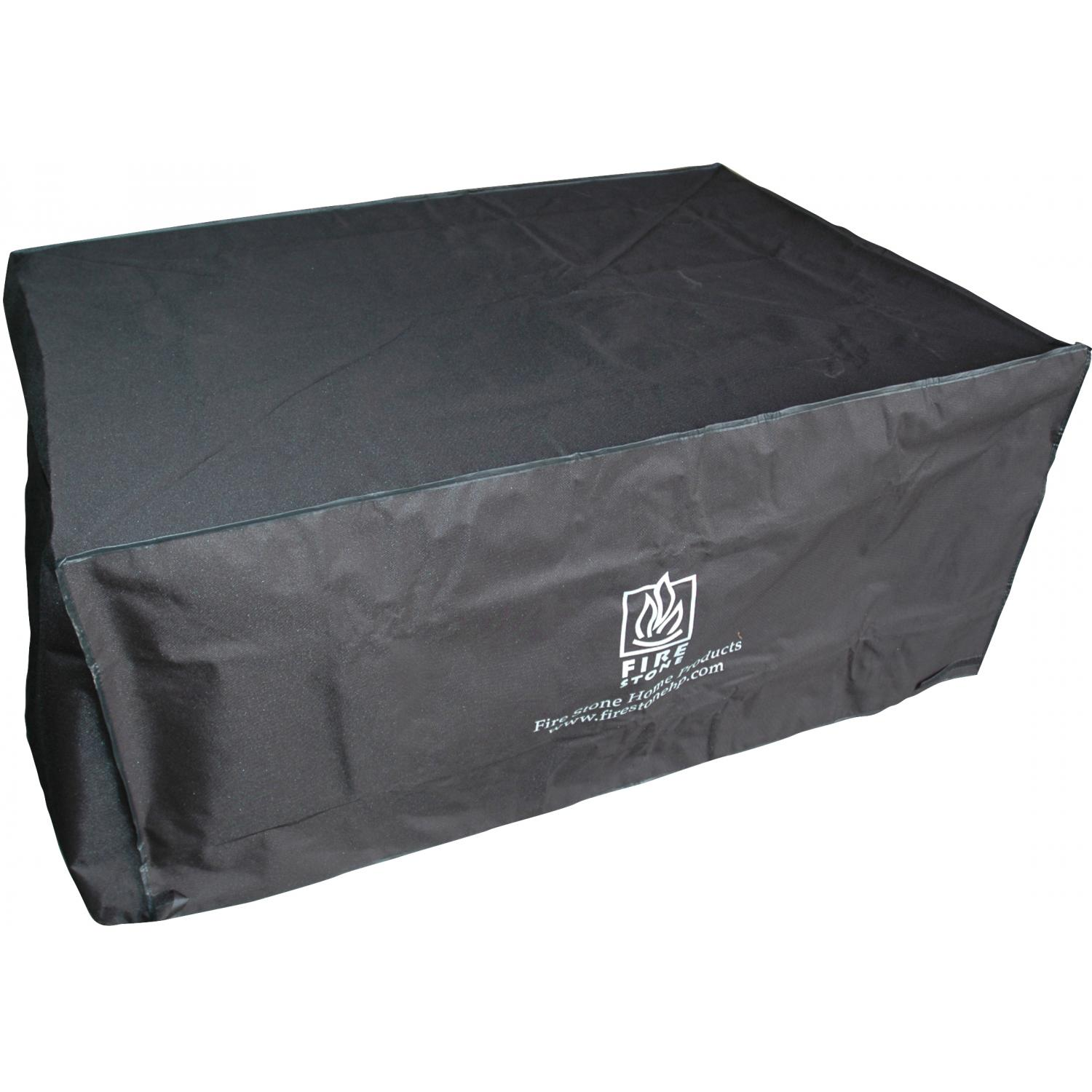 Outdoor GreatRoom Company Black Vinyl Cover For Naples, Sierra, And San Juan Fire Pits