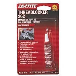 Loctite 262 Threadlocker High Strength - 6ml Tube