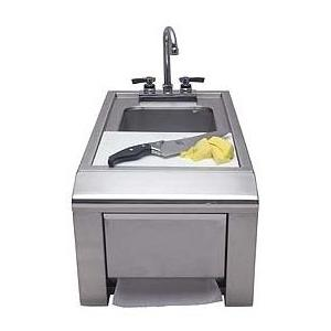 Alfresco Prep And Wash Sink With Towel Dispenser