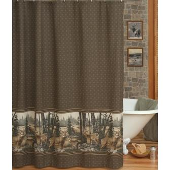 Blue Ridge Trading Whitetail Dreams Shower Curtain And Liner