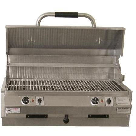 Electri-Chef 32 Inch Dual Control Marine Built In Electric Grill
