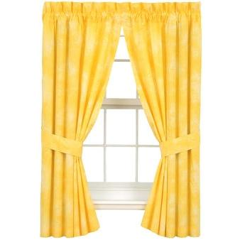 Karin Maki Window Curtain - Caribbean Coolers Banana