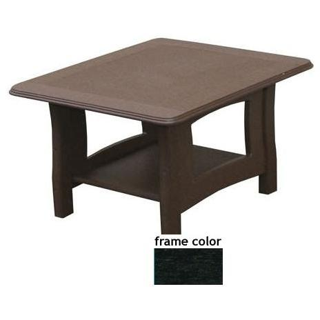 Eagle One Recycled Plastic Newport End Table - Black