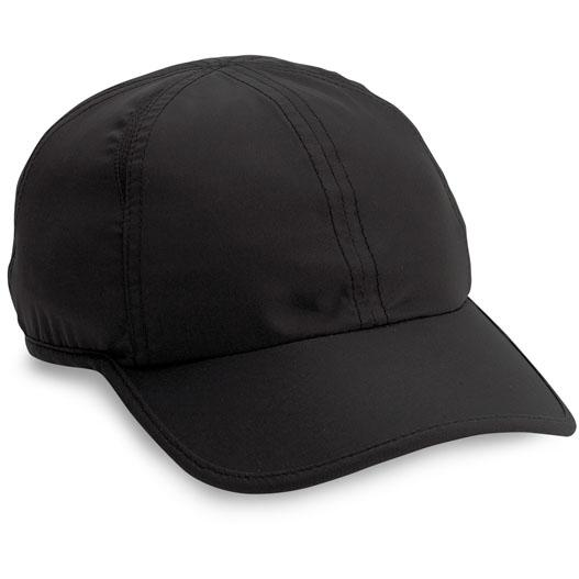 Cobra Caps Performance Quick-Dry Microfiber Cap - Black