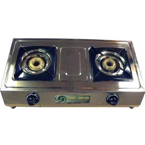 Portable Stainless Double Burner Stove