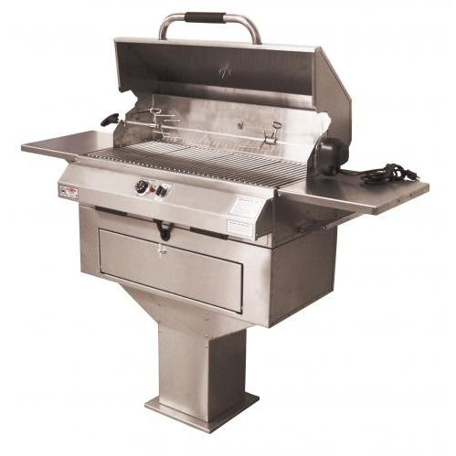 Electri-Chef 32 Inch Electric Chef Single Control Pedestal Base Grill