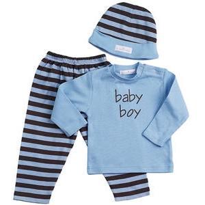 Elegant Baby Baby Boy 3-Piece Clothing Set - 12 Month