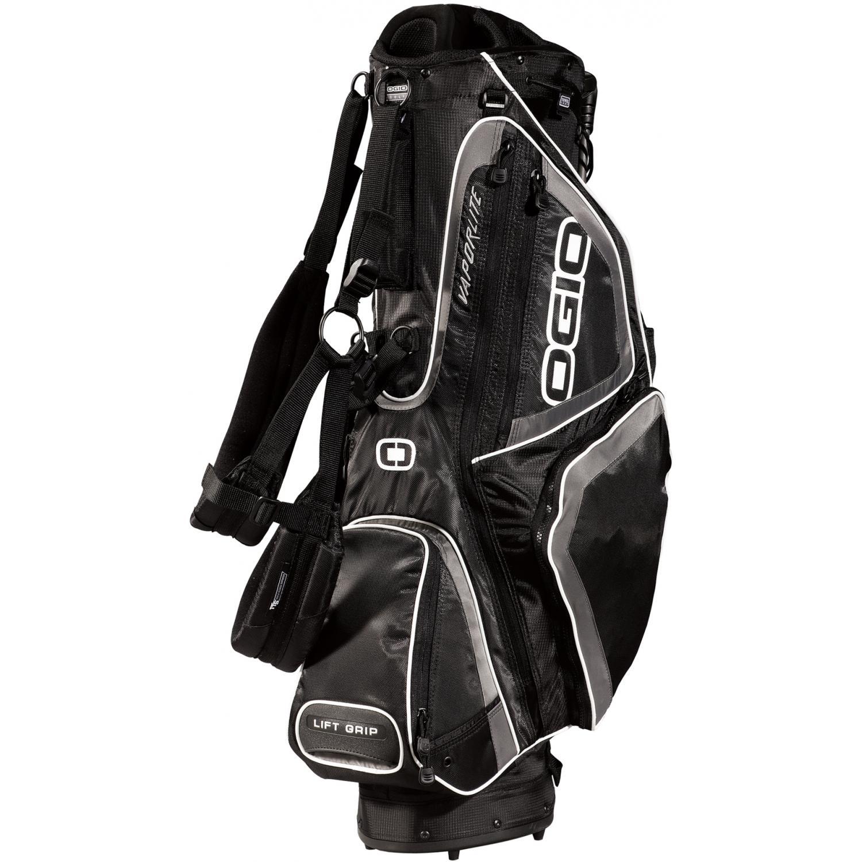 OGIO Vaporlite Stand Golf Bag - Black/Petrol