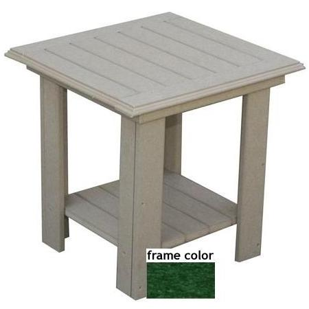 Eagle One Recycled Plastic Lexington End Table - Green