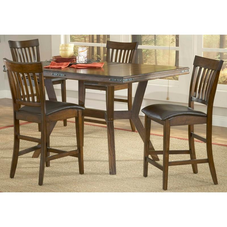 Hillsdale Arbor Hill Counter Height Dining Set 5 Piece - 4232GTBS