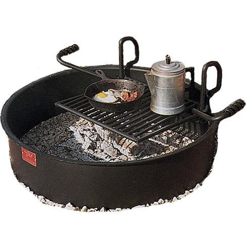 BBQ Guys Campground BBQ Charcoal Grill - FA-30/7/TB
