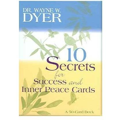 10 Secrets For Success And Inner Peace (50-Card Deck)