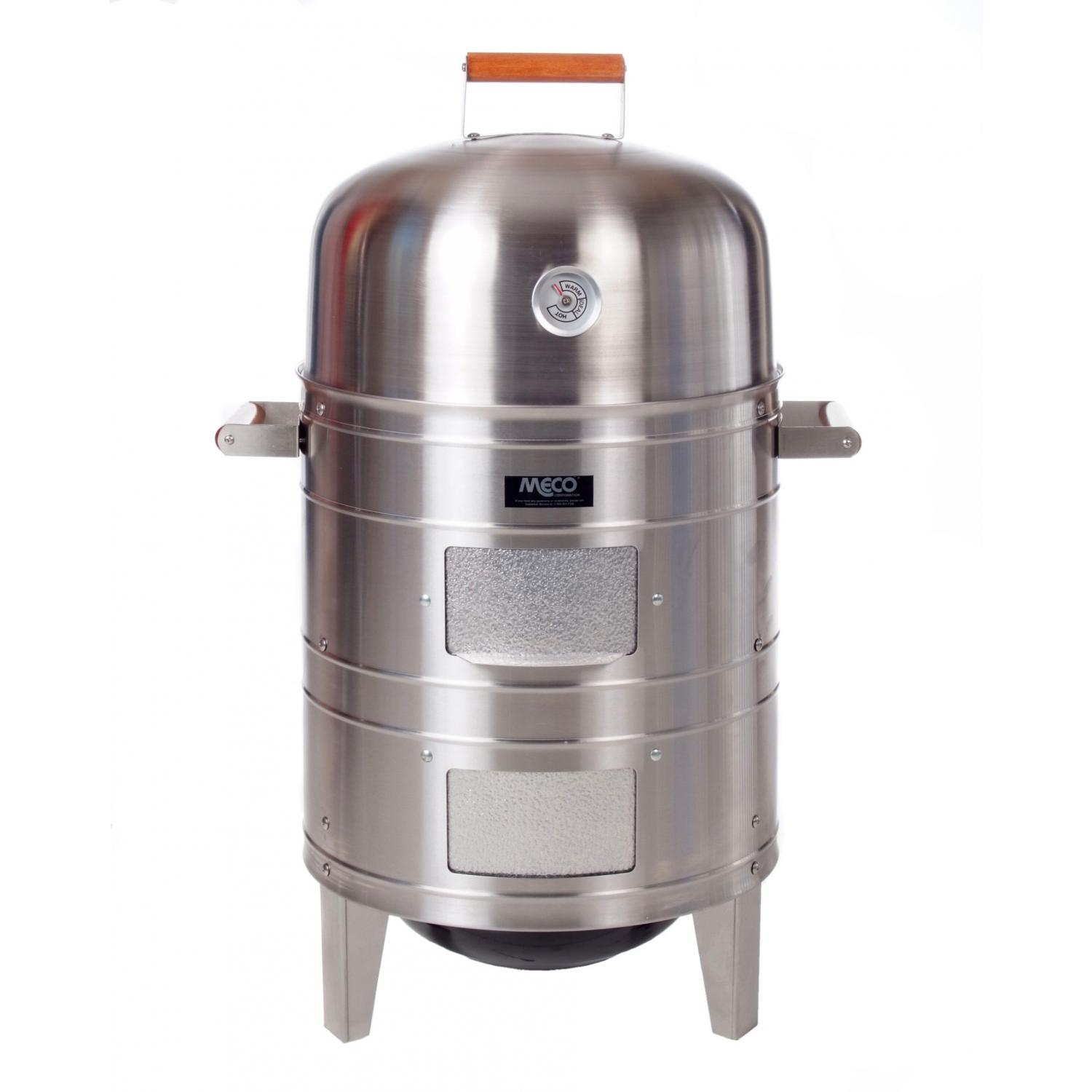 Meco Smokers - 5025 Charcoal Water Smoker - Stainless