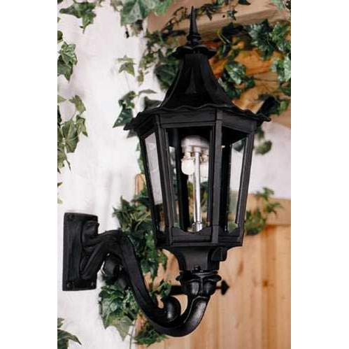 Gaslite America GL1400 Cast Aluminum Manual Ignition Natural Gas Light With Dual Mantle Burner And Standard Wall Mount