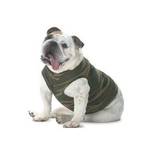 Doggie Skins Tank Top 2XL - Green Woodland